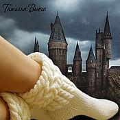 Аксессуары ручной работы. Ярмарка Мастеров - ручная работа Хельга. Носки вязаные, шерстяные носки ручной работы. Купить.. Handmade.