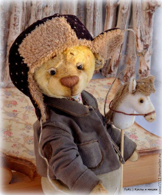 Мишки Тедди ручной работы. Ярмарка Мастеров - ручная работа. Купить Миш Тедди Трофимыч (купить Тедди, сливочный цвет). Handmade.