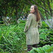 """Одежда ручной работы. Ярмарка Мастеров - ручная работа Пальто """"Оливка"""". Handmade."""