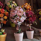 Цветы и флористика handmade. Livemaster - original item Topiary: orchard. Handmade.