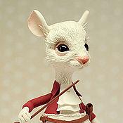 Куклы и игрушки ручной работы. Ярмарка Мастеров - ручная работа мышь. Handmade.