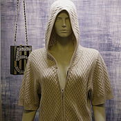 Одежда handmade. Livemaster - original item Cashmere sweatshirt ( long ). Handmade.