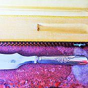 Винтаж ручной работы. Ярмарка Мастеров - ручная работа Антикварный нож для вскрытия писем АРТ ДЕКО серебрение Франция. Handmade.