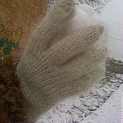 """Работы для детей, ручной работы. Ярмарка Мастеров - ручная работа детские перчатки """"Пуховые"""". Handmade."""