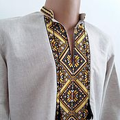 """Одежда ручной работы. Ярмарка Мастеров - ручная работа рубашка """"ромб"""". Handmade."""