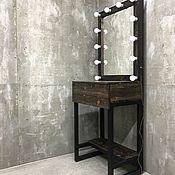 Для дома и интерьера handmade. Livemaster - original item Make-up mirror and table FLORIDA. Handmade.
