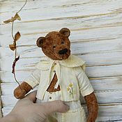 Куклы и игрушки handmade. Livemaster - original item Teddy bear Alex. Handmade.
