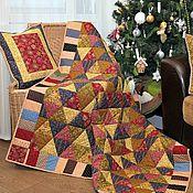 Для дома и интерьера ручной работы. Ярмарка Мастеров - ручная работа Лоскутное одеяло Морозко. Handmade.
