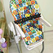 Чехол на стульчик ручной работы. Ярмарка Мастеров - ручная работа Чехол на стульчик для кормления  Chicco Polly Magic. Handmade.