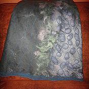 Одежда ручной работы. Ярмарка Мастеров - ручная работа юбка  валяная Рисунок на камнях. Handmade.