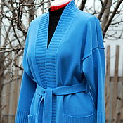 Одежда handmade. Livemaster - original item Classic women`s cardigan with pockets.. Handmade.