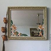 """Для дома и интерьера ручной работы. Ярмарка Мастеров - ручная работа Зеркало """"Весна"""". Handmade."""