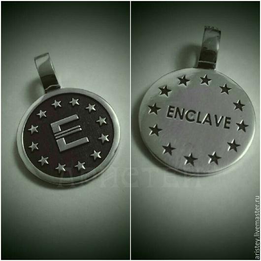 """Кулоны, подвески ручной работы. Ярмарка Мастеров - ручная работа. Купить кулон """"Enclave"""". Handmade. Enclave, серебро 925 пробы"""
