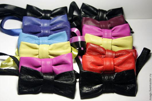 Галстуки, бабочки ручной работы. Ярмарка Мастеров - ручная работа. Купить Бабочка-галстук. Handmade. Черный, нина сага