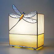 Для дома и интерьера handmade. Livemaster - original item Lamp Dragonfly. Decorative lamp made of glass. Handmade.