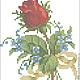 """Вышивка ручной работы. Заказать Коллекция дизайнов """"Букетики из роз"""", формат EXP, ART, VP3, PAT, PES. Кузница счастья. Ярмарка Мастеров."""