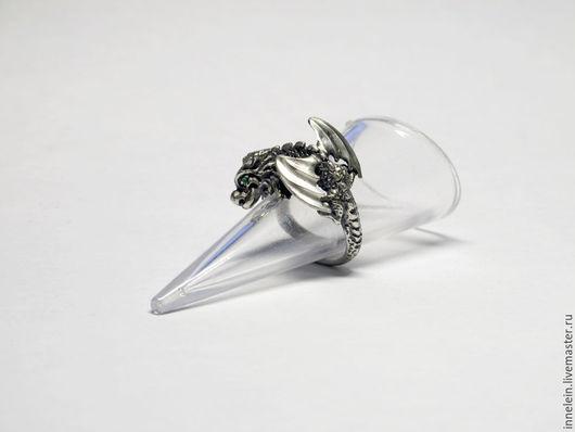 Кольца ручной работы. Ярмарка Мастеров - ручная работа. Купить Кольцо Дракон. Handmade. Серебряный, кольцо дракон, серебро 925