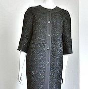 Одежда ручной работы. Ярмарка Мастеров - ручная работа Летнее платье-пальто из кружева prada. Handmade.