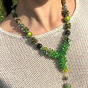Украшения handmade. Livemaster - original item Exclusive decoration. Chic necklace. Stylish decoration, necklace. Handmade.