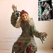 Куклы и игрушки ручной работы. Ярмарка Мастеров - ручная работа Баба Яга из фильма Василисы Прекрасной. Handmade.