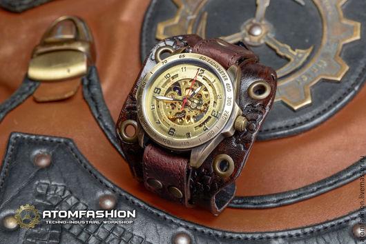 Часы ручной работы. Ярмарка Мастеров - ручная работа. Купить Женские стимпанк часы «Арканум». Handmade. Часы, часы стимпанк