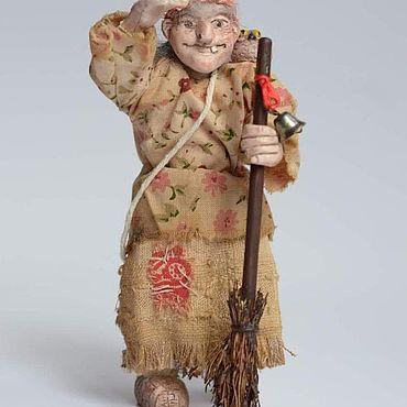 Русский стиль ручной работы. Ярмарка Мастеров - ручная работа Народные сувениры: Баба Яга. Handmade.