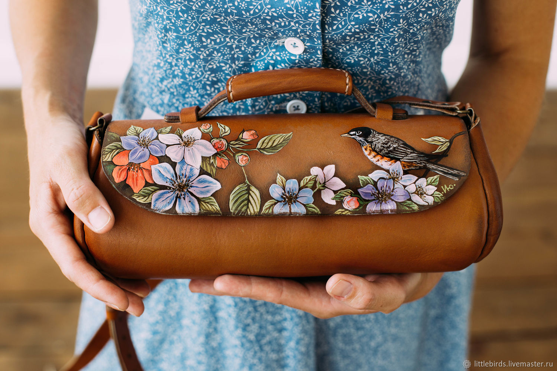 Handbags handmade. Livemaster - handmade. Buy Handbag-bar genuine leather.Bag, shoulder bag, women's handbag