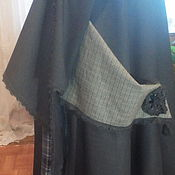 Одежда ручной работы. Ярмарка Мастеров - ручная работа Юбка бохо для Светланы. Handmade.