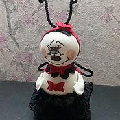 Куклы и игрушки ручной работы. Ярмарка Мастеров - ручная работа Божья коровка. Handmade.