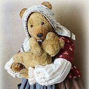 Куклы и игрушки ручной работы. Ярмарка Мастеров - ручная работа Мама с карапузом. Handmade.