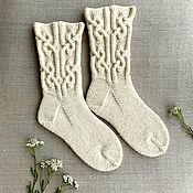 Носки ручной работы. Ярмарка Мастеров - ручная работа Носки шерстяные. Handmade.