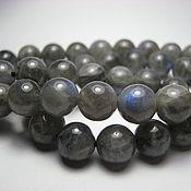 Материалы для творчества handmade. Livemaster - original item Labradorite beads 8mm, smooth ball. Handmade.