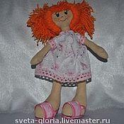 """Куклы и игрушки ручной работы. Ярмарка Мастеров - ручная работа сНежная девочка""""Рыжик"""". Handmade."""