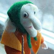 """Куклы и игрушки ручной работы. Ярмарка Мастеров - ручная работа Коллекционная кукла """"Баба-Яга"""". Handmade."""
