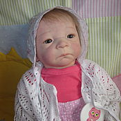 Куклы и игрушки ручной работы. Ярмарка Мастеров - ручная работа Кукла реборн Милейн от Э. Воснюк. Handmade.