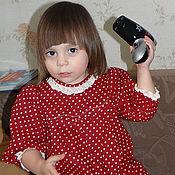 """Работы для детей, ручной работы. Ярмарка Мастеров - ручная работа Платье детское """"Принцесса в горошинку"""". Handmade."""