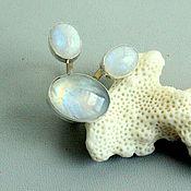 Украшения ручной работы. Ярмарка Мастеров - ручная работа Кольцо лунный камень в серебре. Handmade.