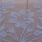 Аксессуары handmade. Livemaster - original item Fillet shawl,TM.grey, summer, large. Handmade.