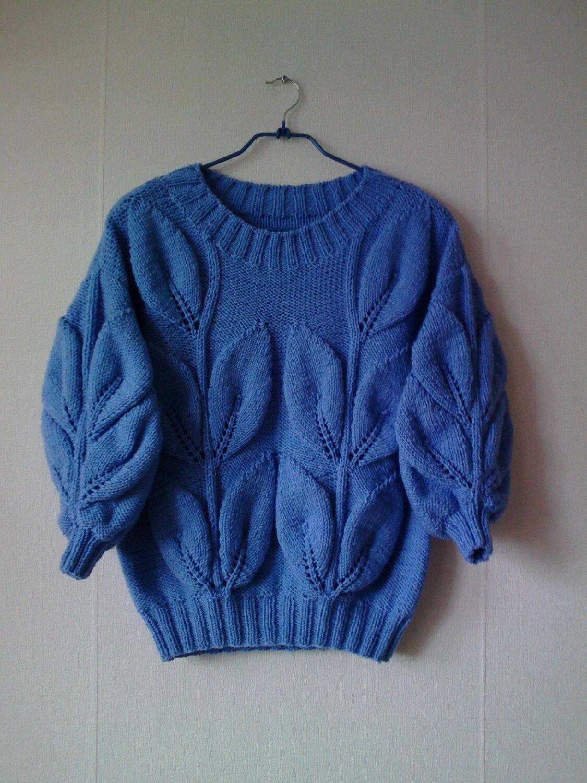 Анна Сырняченко - узорчатый свитер