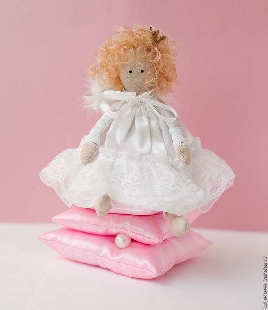 """Куклы Тильды ручной работы. Ярмарка Мастеров - ручная работа. Купить Кукла """"Принцесса на горошине """",ручная работа.. Handmade."""