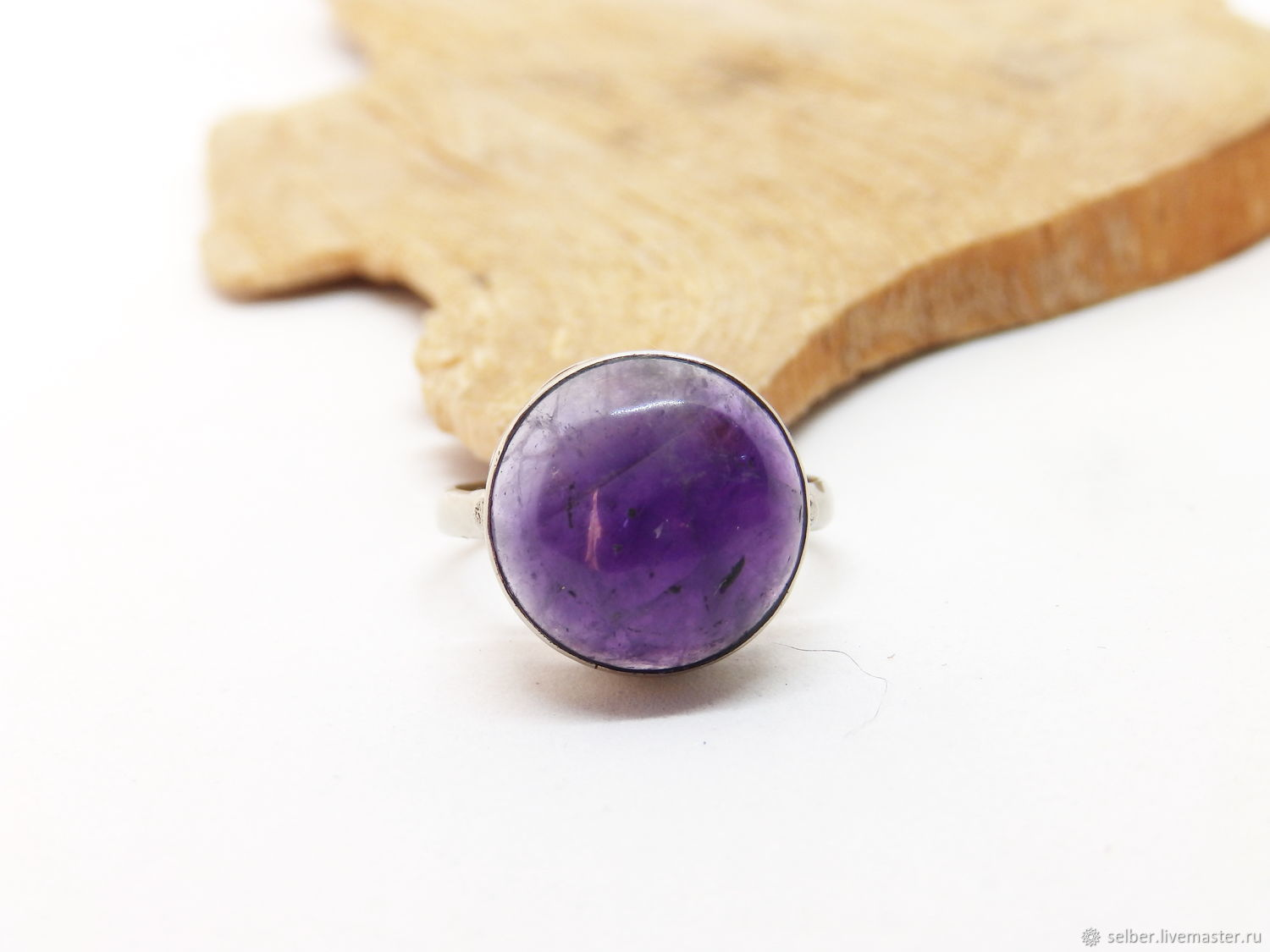 17.5 R. Magic Amethyst ring (a175), Rings, Gatchina,  Фото №1