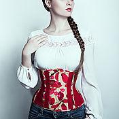 """Одежда ручной работы. Ярмарка Мастеров - ручная работа Корсет """"Cherry blossom"""". Handmade."""