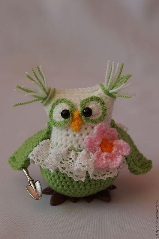 амигуруми, вязаная игрушка, вязаная сова, игрушка сова, игрушка вязаная, игрушка ручной работы, игрушка вязаная крючком, амигуруми сова