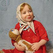 Куклы и игрушки ручной работы. Ярмарка Мастеров - ручная работа варька. Handmade.