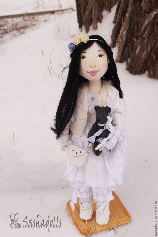 Коллекционные куклы ручной работы. Ярмарка Мастеров - ручная работа. Купить Северная принцесса Алия. Handmade. Белый, хендмейд