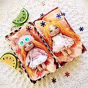 Куклы и игрушки handmade. Livemaster - original item Dolls and babies:Play doll,textile, with clothes, play sets. Handmade.