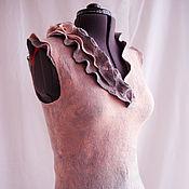 """Одежда ручной работы. Ярмарка Мастеров - ручная работа Жилет """"Начало. Рассвет"""". Handmade."""