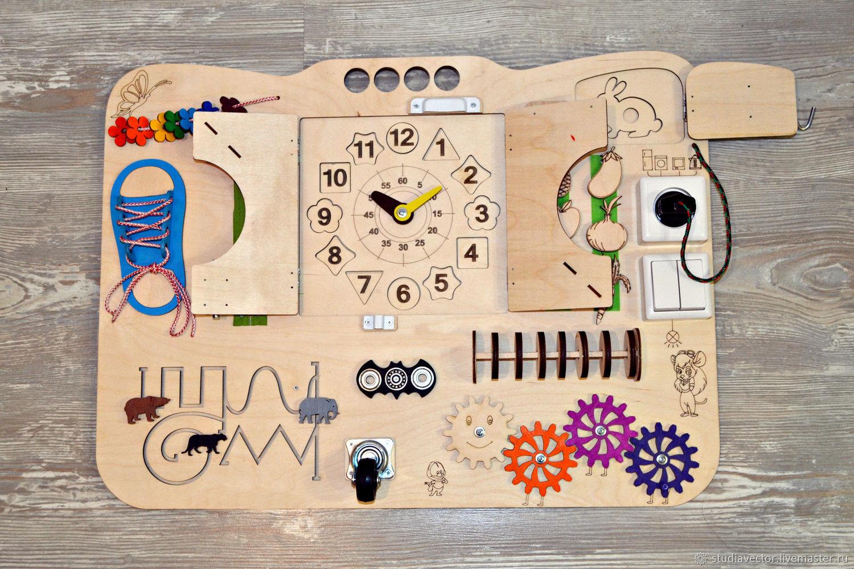 Бизиборд -развивающая доска, Бизиборды, Санкт-Петербург,  Фото №1