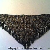Одежда ручной работы. Ярмарка Мастеров - ручная работа Ажурная шаль. Handmade.