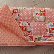 Работы для детей, ручной работы. Ярмарка Мастеров - ручная работа Детское стёганое одеяльце. Handmade.